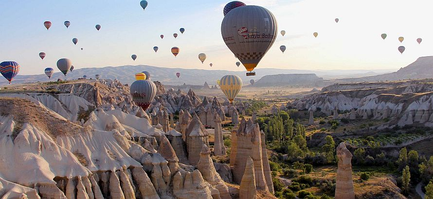 Love Valley and Balloon Tours
