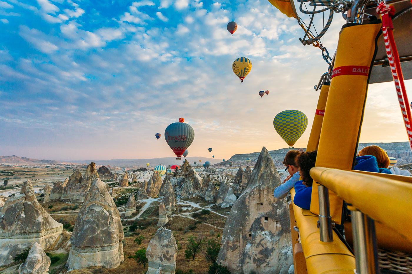 Cappadocia Hot Air Balloon Tours