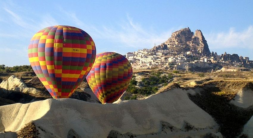 Uchisar Castle Panorama and Balloon Tours